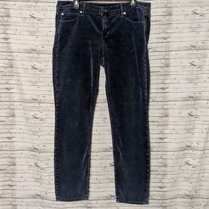 Gap 1969 Womens Slate Blue corduroy pants W:32